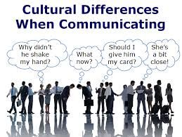 cultural communication - this can represent cultural aspects but also professional aspects of communication.