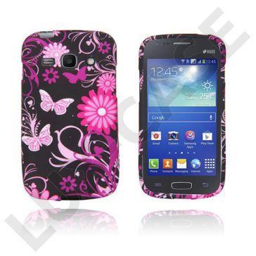 Symphony (Rosa Sommerfugler) Samsung Galaxy Ace 3 Deksel