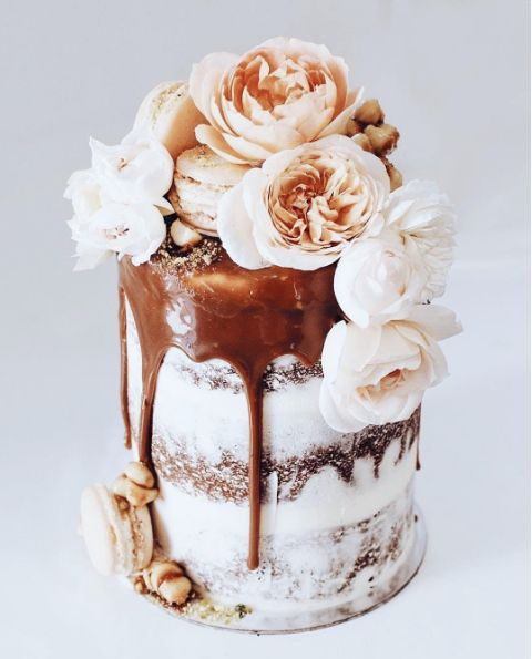 TOME / Wedding Cakes / Drizzled Decadence / View more: http://thelane.com/brands-we-love/tome