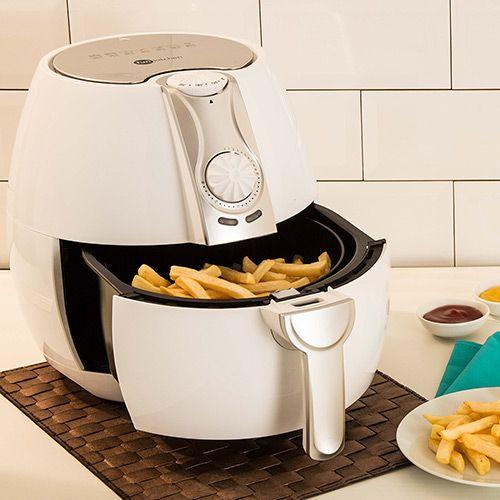 Fritadeira Sem Óleo Fun Kitchen Fritalight 3.2 Litros Branca com 2 Anos de Garantia