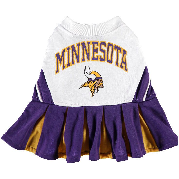 Minnesota Vikings Cheerleader Pet Outfit - $18.39