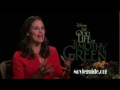 THE ODD LIFE OF TIMOTHY GREEN - Jennifer Garner interview - http://hagsharlotsheroines.com/?p=35677