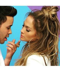 """How to get Jennifer Lopez's half-up top knot, half-down look from the """"Back It Up"""" music video with Pitbull and Prince Royce"""