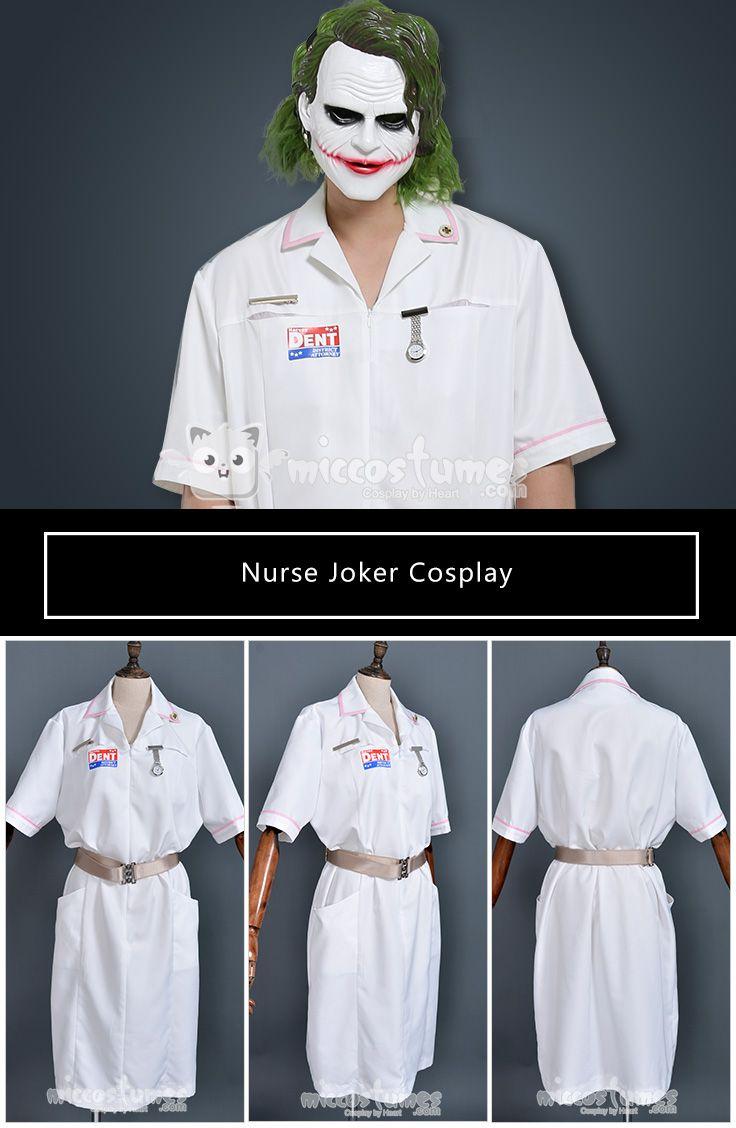 78ec1dc514638 Nurse Joker Cosplay Dress Costume Inspired by Batman Made by Miccostumes  #cosplay #miccostumes #NurseJoker #CosplayCostume #Batman #Joker  #NurseJokercosplay ...