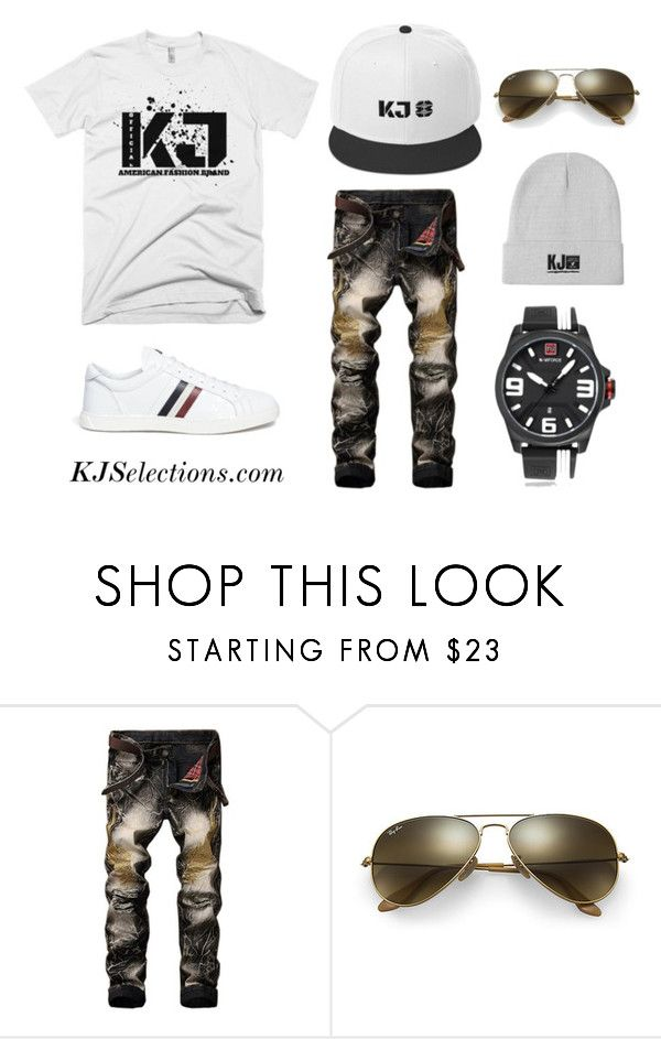 Simple and Sexy by kjselections on Polyvore featuring Moncler, Ray-Ban, men's fashion, menswear, Trendy, Minimalist, MensFashion and fashionset
