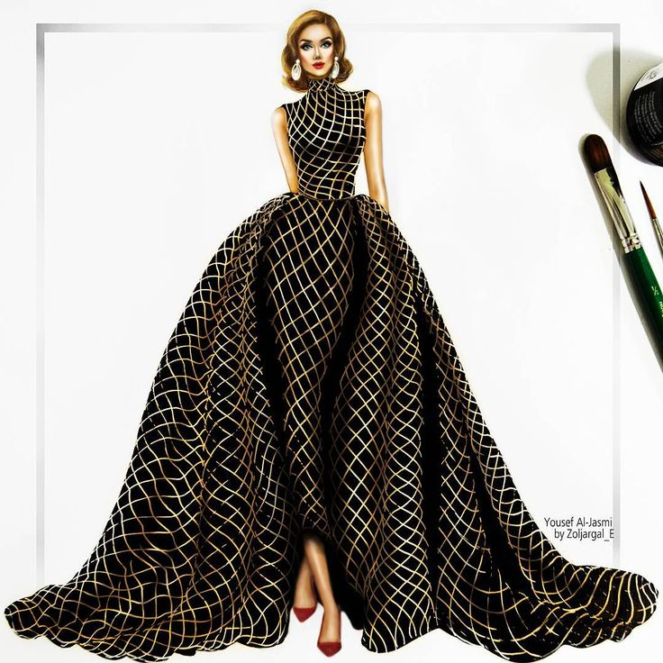 Haute Couture Illustrator