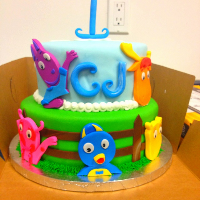 59 best backyardigans party images on pinterest birthday for Backyardigans party decoration
