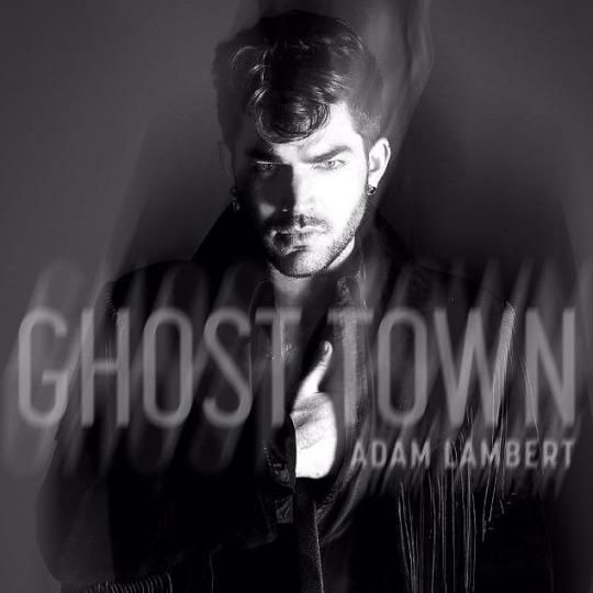 """I have heard the future of pop. It sounds a bit like '90s pop. It also sounds amazing. It is """"Ghost Town,"""" the forthcoming single by Adam Lambert, and true to its title, it is hauntingly catchy."""