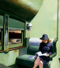 """[6]  """"I gotta get away! What am I running from? What's going to happen to me? I'm acting like a scared kid!"""" #Edward #Hopper   http://maryemartintrilogies.com/?p=7297 #American #art"""