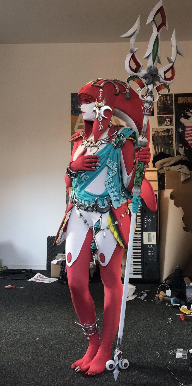 Mipha is ready, by Lara Lara Wegenaer #zelda #Nintendo #cosplay #breathofthewild #mipha