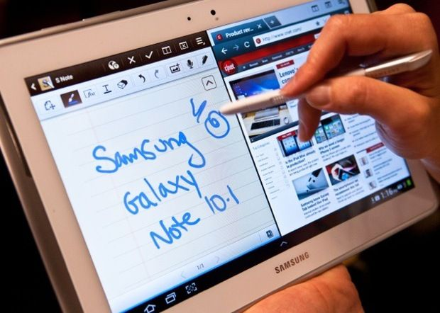 Samsung Galaxy Note tablet-new toy for my 12 hour days at school!