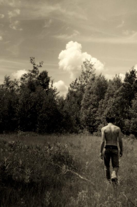 Benoit dans bois