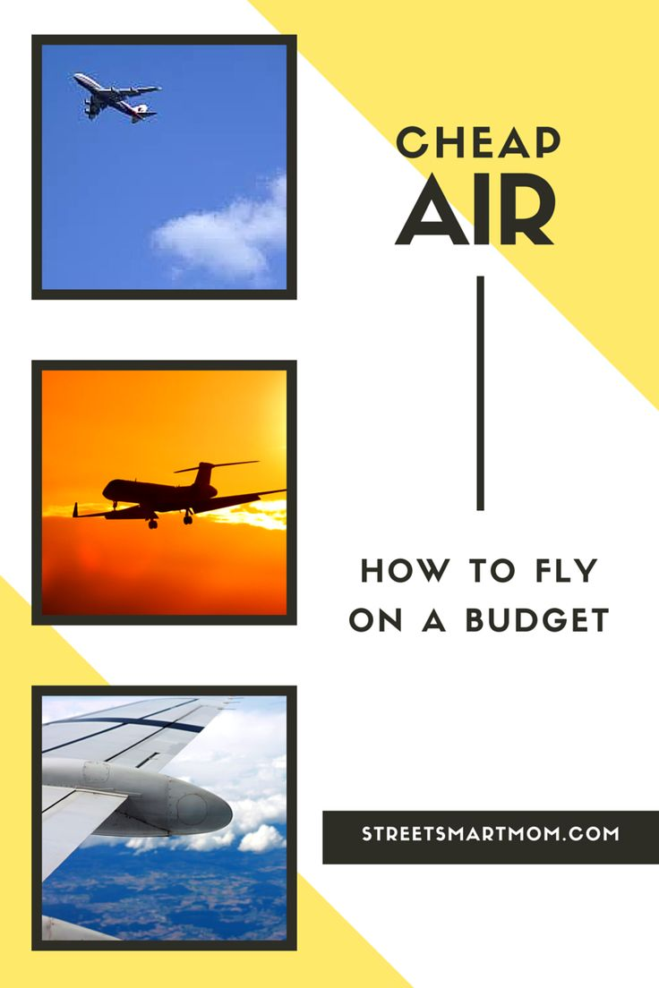 Do you want to learn the secrets of how to fly on a budget? Check out my favorite ways to find deals for cheap air fare!