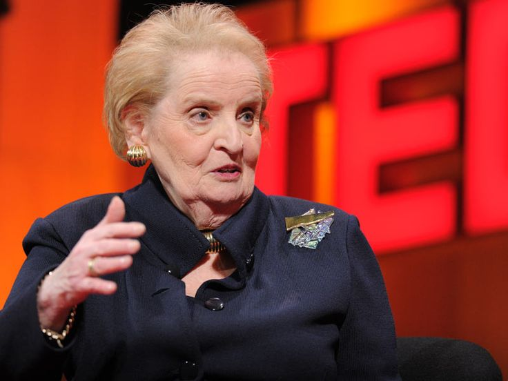 Madeleine Albright: On being a woman and a diplomat via TED. What an incredible human she is.