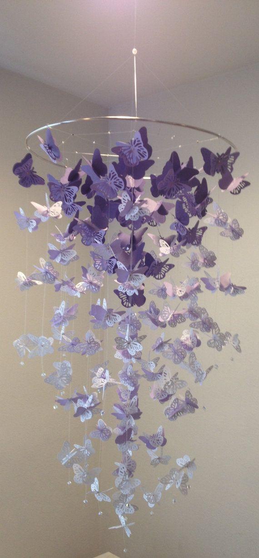 Baby Girl Butterfly Bedroom Ideas the 25+ best ideas about purple butterfly nursery on pinterest