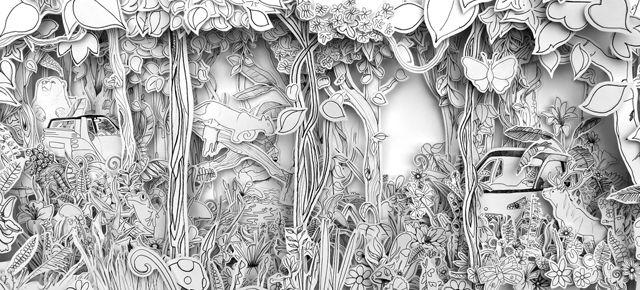 paper art in a frame - Sök på Google