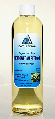 Meadowfoam Seed Oil Organic Carrier Expeller Pressed 100 Pure 12 oz * Click image for more details.