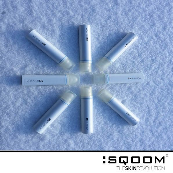 SQOOM xCential NE Serum -for dry and irrated skin typically related to neurodermatitis -gives the skin intensive moisture -have a skin soothing and moisturising effect -perfect moisture for dry winter skin