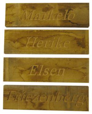 over Houten Naamborden op Pinterest - Achternaam decor, Schuur bord ...
