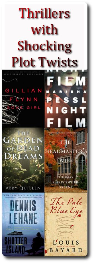 6 literary thrillers with shocking plot twists #pageturners #summerreads #books #bookstoread #thrillers #mysteries