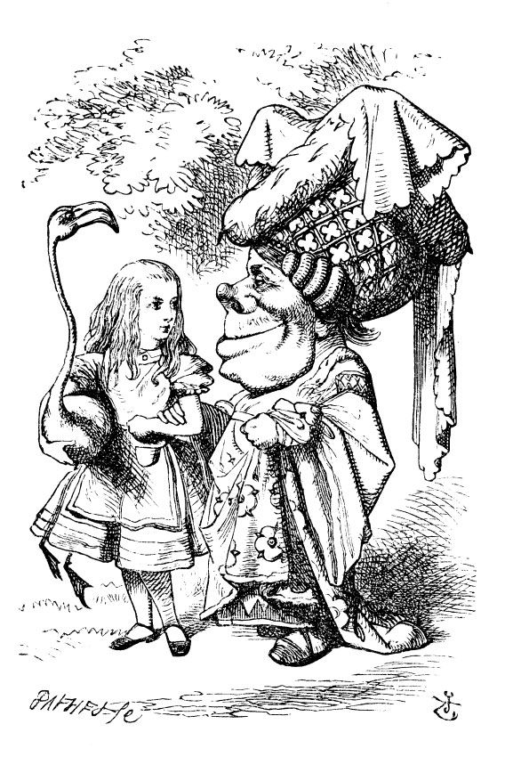 Alice in Wonderland - the edition we had when I was a kid had these illustrations.