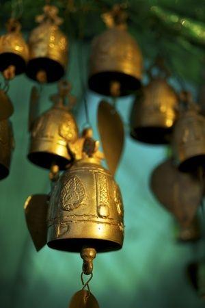 temple bells Thailand