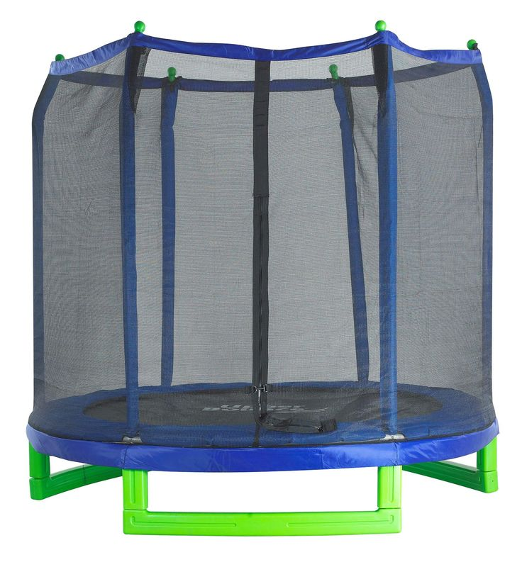 Amazon.com : Upper Bounce Indoor/Outdoor Classic Trampoline and Enclosure Set (7-Feet) : Sports & Outdoors