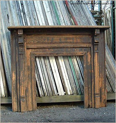 Reclaimed fire place mantle for formal living room.