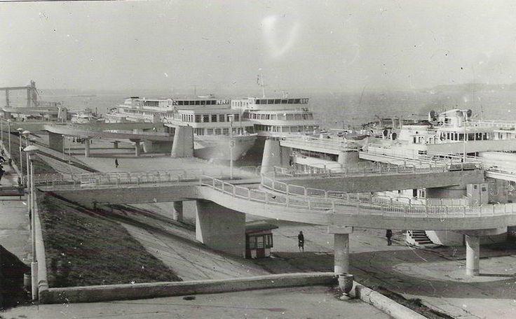 Речной вокзал картинки самара 1953 год