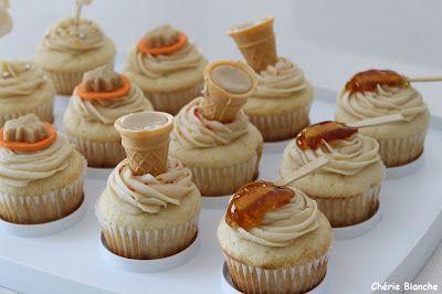 """Cupcakes """"Cabane à sucre"""""""