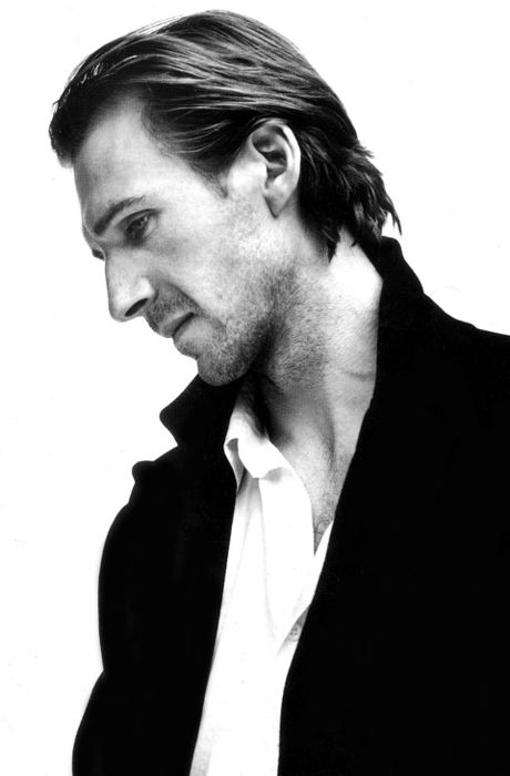 Ralph Fiennes - this man has perhaps the most expressive eyes I have ever seen.  He's such a joy to watch in films too :)