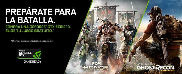 ¡Disfruta de estos dos nuevos juegos gracias a Nvidia!