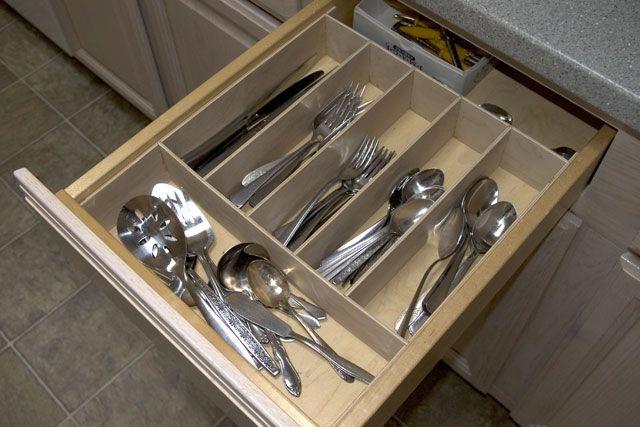 1000 ideas about silverware organizer on pinterest for Vertical silverware organizer
