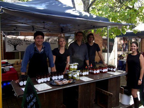 The team at Bowral Public School Markets