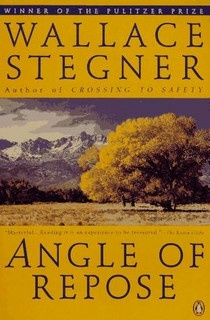 Angle of Repose by Wallace Stegner. Love it so far. Heard it described like a Western East of Eden.