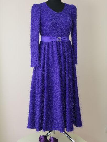 нарядное платье, платье к новому году, праздничное платье, платье в стиле 80ых, платье на заказ, new year dress, 80s style dress, atelier altanova, платье к новому году, платье на день рождение, violet dress