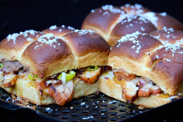 Grilled Pollo Asado Sliders with Frijoles Spread | A Merry Recipe | Inspirations from the heart & kitchen of Merry Graham