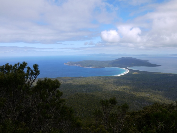The view from on top Mt Maria