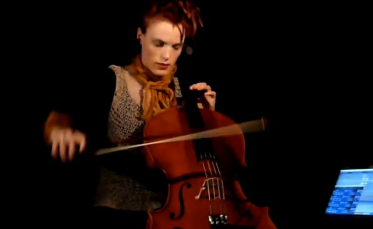 Zoe Keating creates sound loops on her cello to compose complex, beautiful songs from a single instrument.