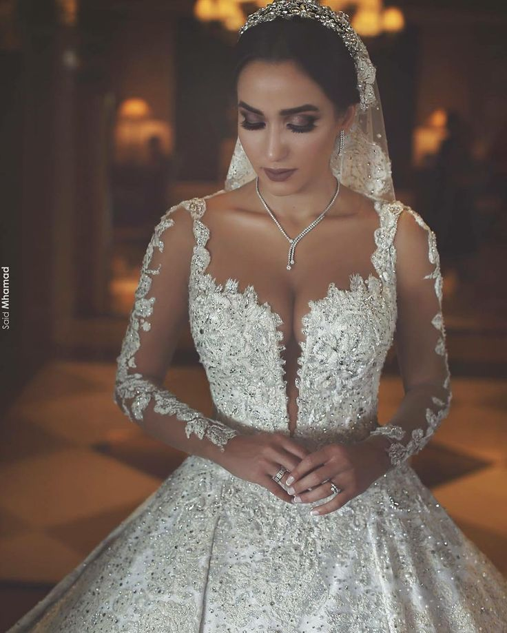 beaded haute couture wedding dresses like this can be very expensive for some brides if