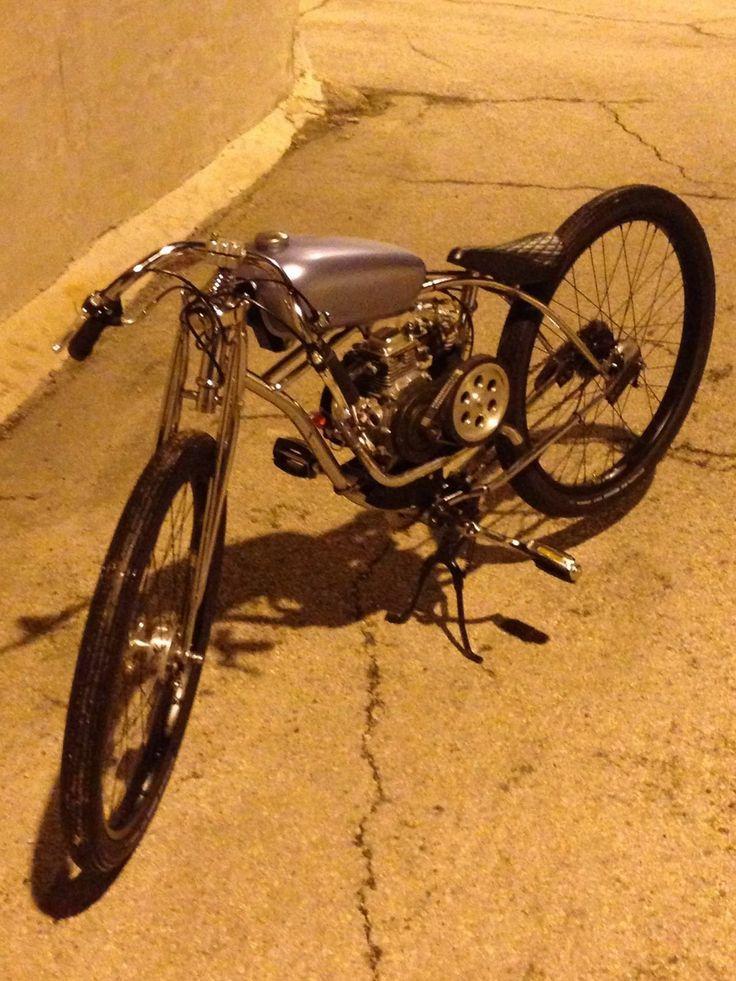 Boardtrack Racer Inspired Motorized Bicycle | eBay