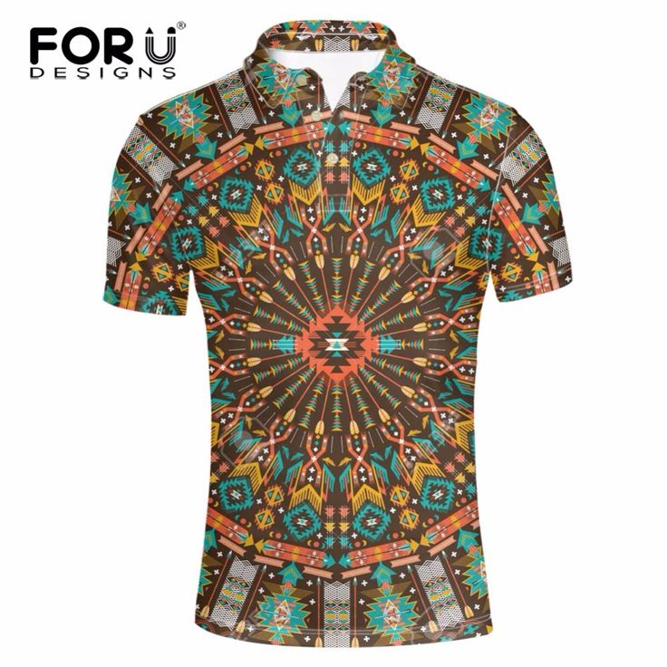 ==> [Free Shipping] Buy Best FORUDESIGNS Men's Brand Vintage Polo Shirt Fashion Max Breathable African Fabric Polo For Men Male Summer Vogue Polo Shirts Online with LOWEST Price | 32800339529