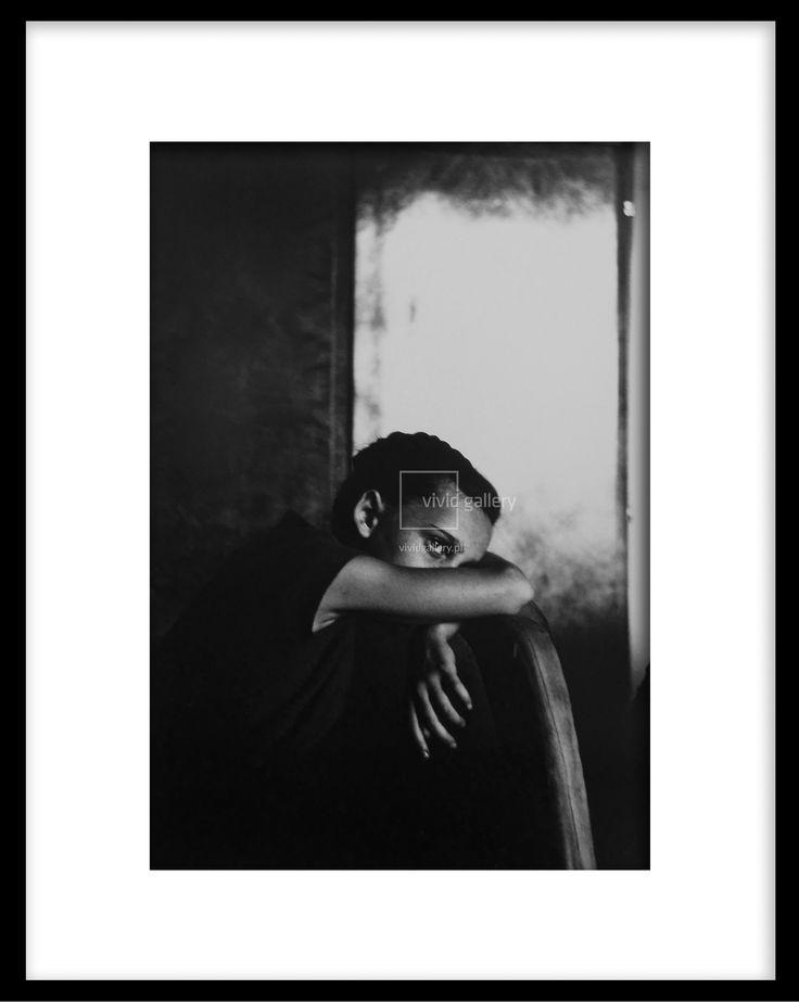 Zdzisław Beksiński - 'Portret' nr kat. 487  Vivid Gallery
