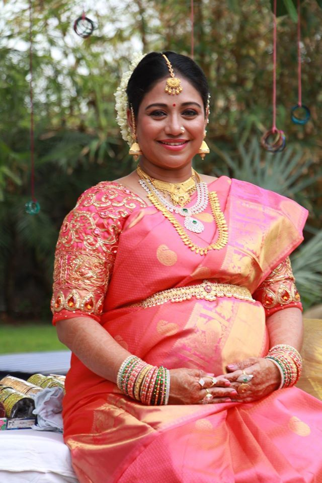 Sneha Baby Shower Photos Google Search Sarees Baby Shower