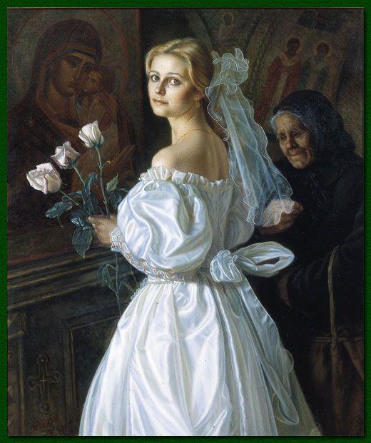 В каждом портрете присутствует душа. Художник Александр Шилов. | Наслаждение творчеством