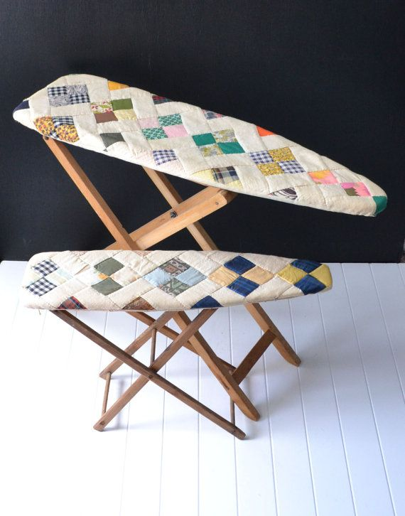 Vintage Kids Ironing Boards Childrens Ironing Boards by KOLORIZE