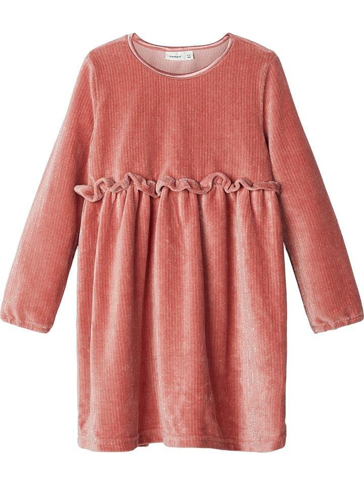 Samtkleid Ritte In Rosa Samtkleid Kleider Und Altrosa