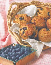 Super Easy Blueberry Muffins