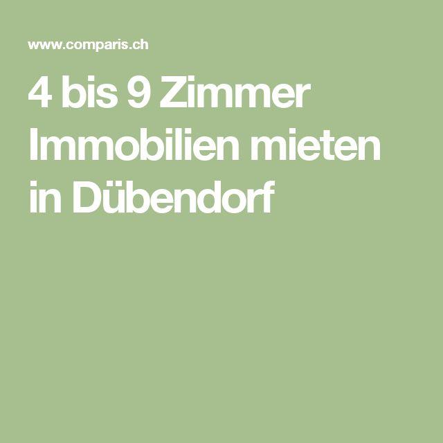 4 bis 9 Zimmer Immobilien mieten in Dübendorf
