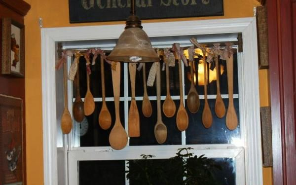 wood spoon wll decorations